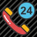 24 hours helpline, call center, customer support, helpline, hotline