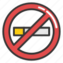 no cigarette, no smoking, no smoking sign, non smoking area, quit smoking icon