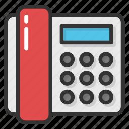 corded landline phone, landline phone, retro phone, telecommunication, telephone icon