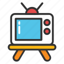 idiot box, retro tv, television, transmission, tv icon