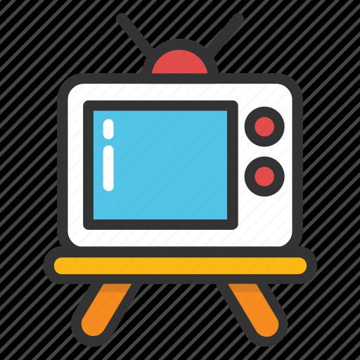 idiot box, retro tv, television, transmission, tv icon
