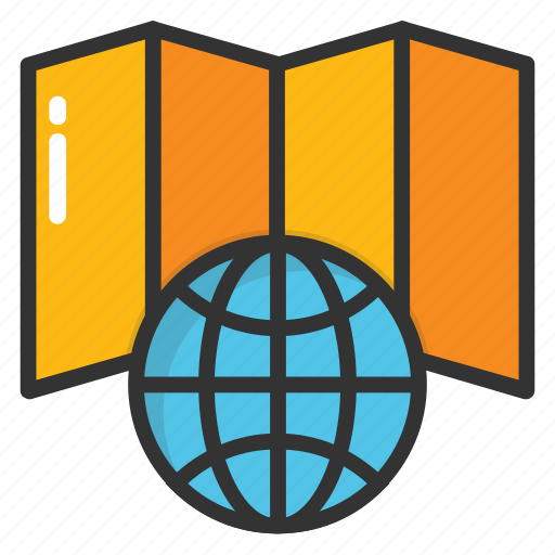 global cartography, global topography, world atlas, world geography, world map icon