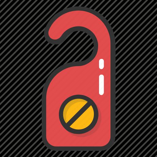 do not disturb door sign, door hanger, door hanger tag, door hanging sign, door knob icon