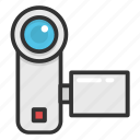 camcorder, camera, digital cam, handycam, video camera icon