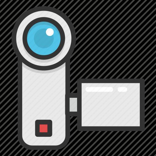 camcorder, camera, digital cam, handycam, video camera icon