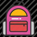 foldable bag, gym packsack, hiking bag, school bag, sports bag
