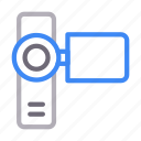 camera, capture, dslr, movie, recording icon