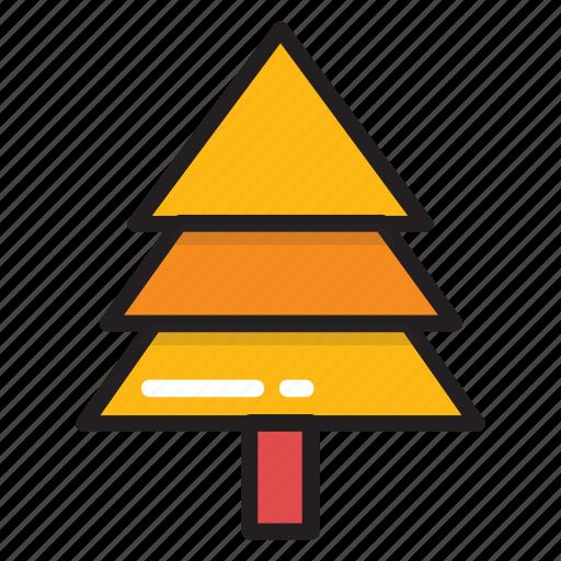 cypress tree, evergreen tree, fir tree, fraser fir, larch tree icon