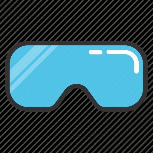 goggles, racing goggles, ski goggles, snow goggles, swimming goggles icon
