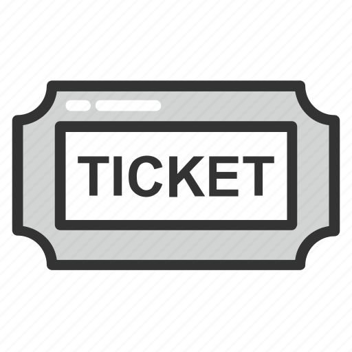 coupon, pass, ticket, token, voucher icon