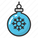 christmas ball, christmas bauble, christmas decoration, christmas decoration bauble, christmas tree ball icon