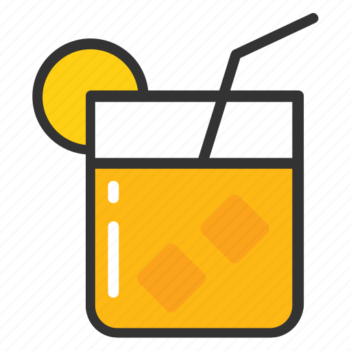 juice, lemonade, orange juice, refreshing juice, summer drink icon