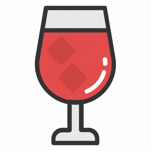 cold drink, drink, drink with cubes, juice, soft drink icon