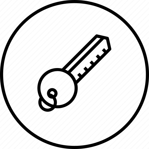 access, hotel, key, lock, open, room, secure icon
