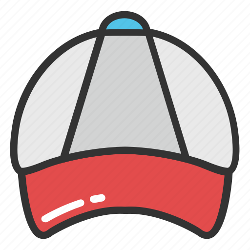 baseball cap, beach cap, cap, shade cap, sports cap icon
