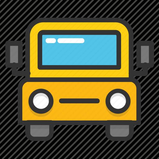 autobus, bus, coach, omni bus, tour bus icon