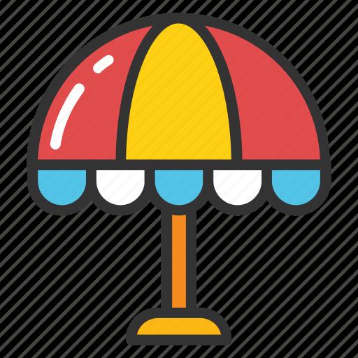 bistro umbrella, cafe umbrella, outdoor umbrella, patio umbrella, restaurant umbrella icon