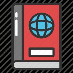 encyclopedia, globe book, international encyclopedia, world book, world book encyclopedia icon