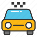 cab and taxi service, cab service, taxi cab hire, taxi car, taxicab monogram icon