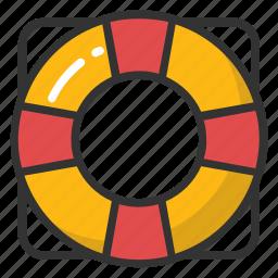 life buoy, life ring, lifeguard, lifesaver, saver ring icon