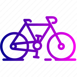bicycle, bike, cycle, cycling, riding, transport, vehicle icon