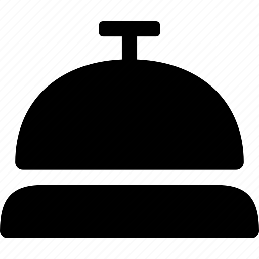 bell, concierge, hotel, reception, ringing, service icon