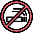 no smoking, sign, resort, hotel, vacation, holiday, traveling icon