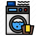 clothes, laundry, machine, wash, washer icon