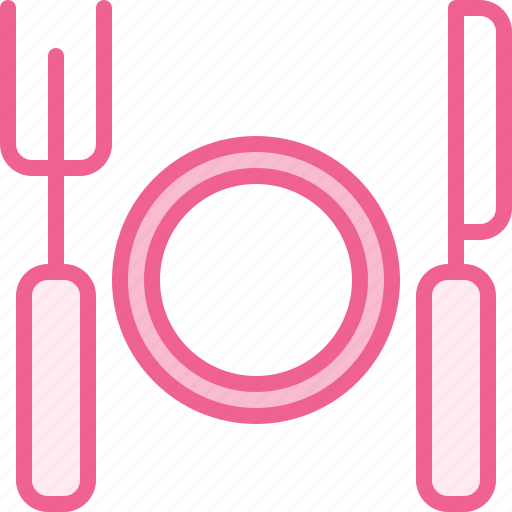 cutlery, food, hotel, tour, trip, vacation icon