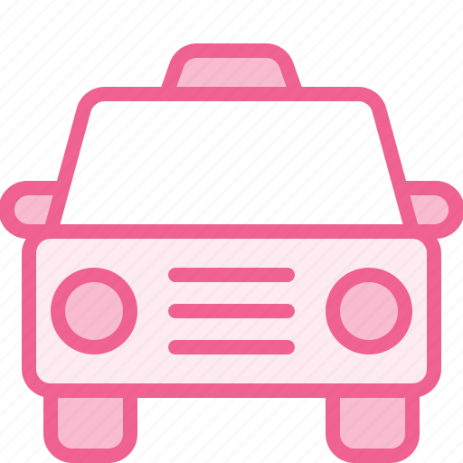 cab, hotel, taxi, tour, trip, vacation icon