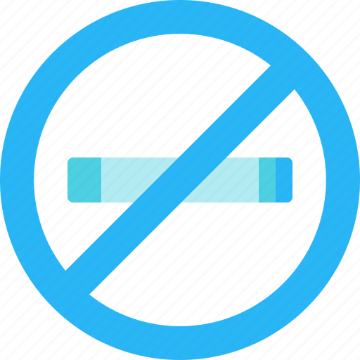hotel, no, smoking, tour, trip, vacation icon