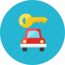 car, key icon