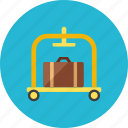 cart, luggage icon