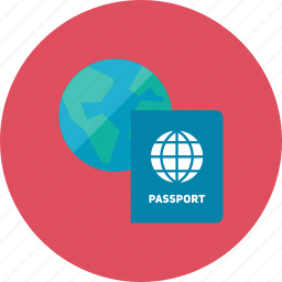 2, passport icon