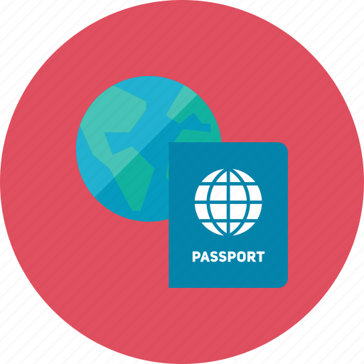 2, passport icon