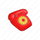antique, call, cartoon, communication, old, retro, telephone icon