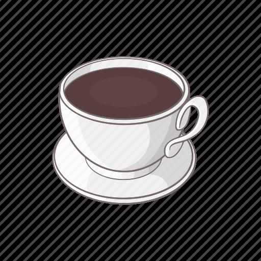 breakfast, brown, cafe, cartoon, coffee, cup, mug icon