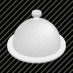 dish, food, isometric, meal, menu, restaurant, tray icon