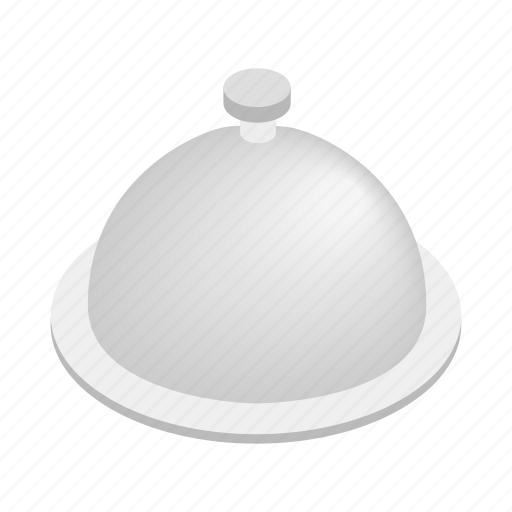 dish, food, isometric, meal, menu, restaurant, tray icon