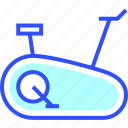 bike, booking, hotel, near, stationary, suite, vacation icon