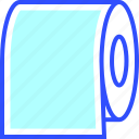 booking, hotel, near, paper, suite, toilet, vacation icon