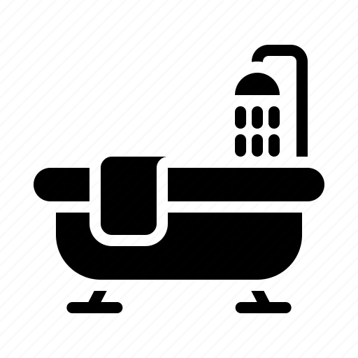 Bath, bathroom, bathtub, hotel, service icon - Download on Iconfinder