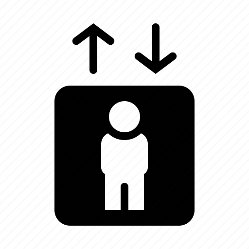 Elevator, hotel, lift, service icon - Download on Iconfinder