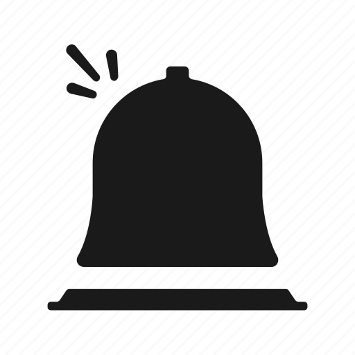 Bell, hotel, service icon - Download on Iconfinder