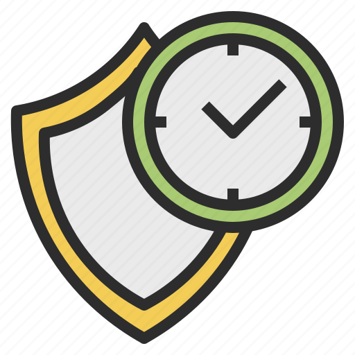 clock, hrs, safe, security, time icon