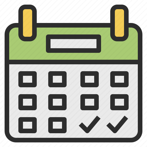 Calendar Booking Icon : Booking calendar make reservation icon search engine