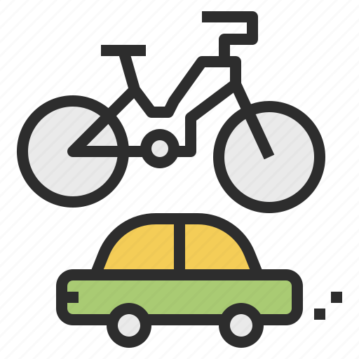bicycle, car, rent, vehicle icon
