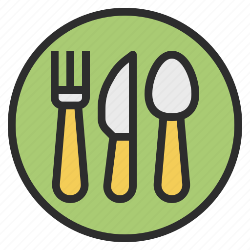 canteen, court, food, restaurant icon
