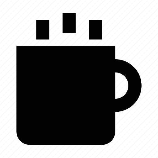 coffee mug, hot coffee, hot drink, hot tea, tea mug icon