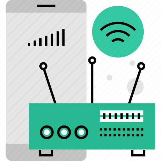 connection, internet, point, router, spot, wifi, wireless icon